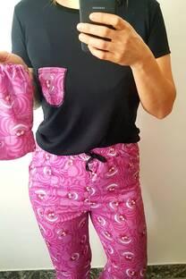 Pijama gato de Alicia Sublimado -
