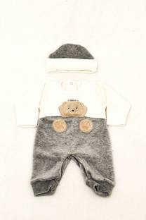 Enterti plush bebe con gorrito -