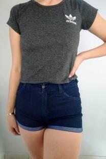 Short jean liso -