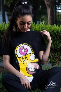 Pijama Homero con remeron -