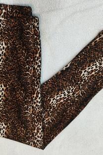 Calza lanilla animal print -