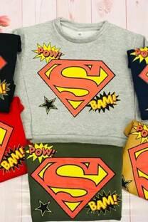 Buzo Superman friza -