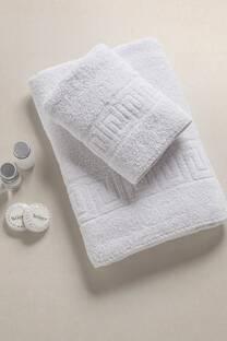 Juego de toalla y toallon 500 gs en bolsa -