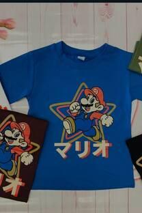 Remera Mario Bross -