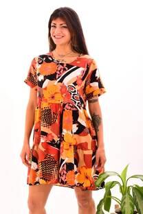Vestido oversize poplin