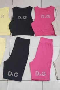 Conjunto Dolche Gabbana Ciclista -