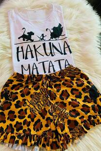 Pijama Hakuna Matata -