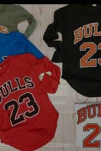 Remera niños Bulls unisex -