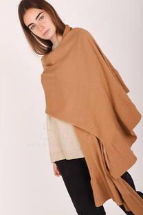 bufanda con volados -
