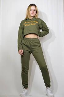 Pantalon rustico con elastico talle 2 y 3 -