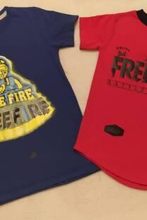 Remera free fire -