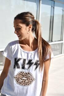 Remera KISS ANIMAL -