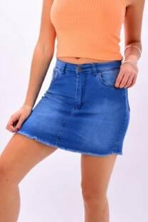 Pollera jean localizado -