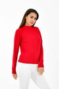 Sweater trenzas -