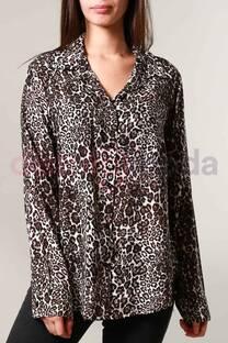 Camisa Leopardo   -