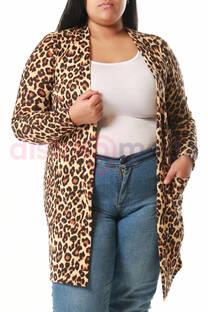 Capa Estampada Leopardo -