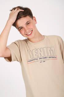 REMERA JERSEY M/C DENIM