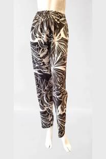 Pantalon de fibrana estampado -