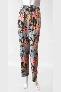 Pantalon de fibrana estampado
