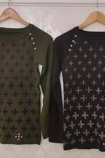 Sweater Samay Con Detalles De Tachas -