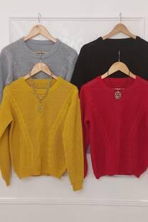 Sweater Trenzado Lola -