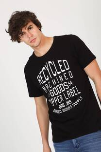 REMERA SLIM FIT M/C RECYCLED -