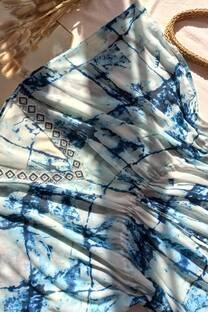 Tunica vestido importado con canutillos