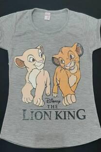 Remera Simba y Nala -