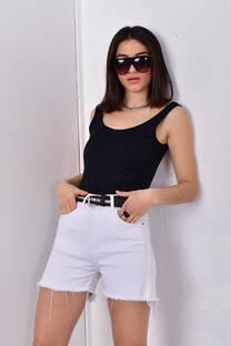 Short Caetana blanco  -