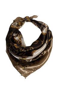 Nº 51 Pañuelo de seda cuadrado con estampado.  Medidas: 50 cm x 50 cm