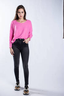 Pantalon Jean Maya Gris elastizado