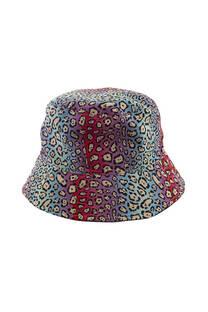 Sombrero piluso para adultos con estampado animal print. -