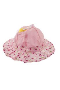 Sombrero piluso para nena con moño -