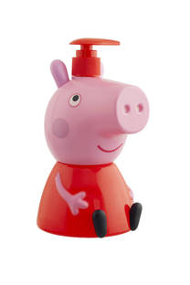 3 en 1 Peppa pig, shampoo + acondicionador + body wash -