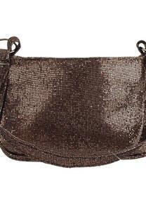 Mini Bag con glitter y manija de agarre.  Medidas: 22 cm x 12 cm -