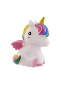 Luz de noche baby unicornio led , inalambrico a pilas.  Medidas: 12 cm x 5 cm -