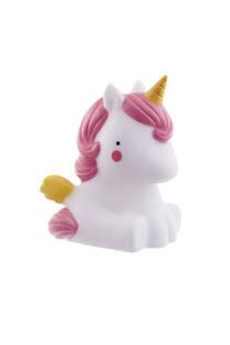 Luz de noche baby unicornio led , inalambrico a pilas.  Medidas: 16 cm -