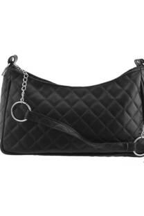 Maxi bag cuero ecológico matelasse con tira de cadena.  Medidas: 25 cm x 12 cm -