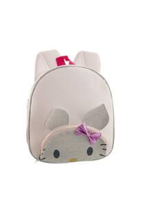 Mochila chica neopreno infantil diseño kitty con tiras regulables.  Medidas: 30 cm x 25 cm -