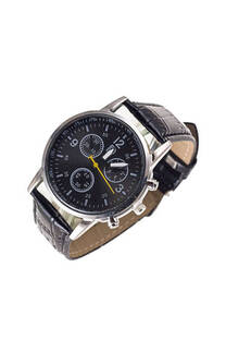 Reloj  malla cuero ecológico -
