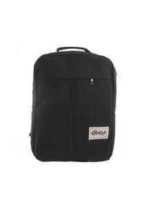 Mochila escolar reforzada de poliéster con bolsillo interno porta notebook, laterales, frontal y tiras regulables.  Medidas: 45 cm x 25 cm. -