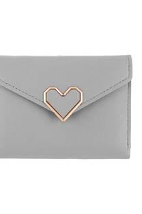Billetera corazón -