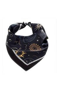 Pañuelo de seda sublimado cuadrado. Medidas: 50 cm x 50 cm -