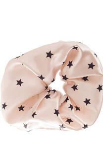 Scrunchie XXL de raso con diseño de Estrellas -