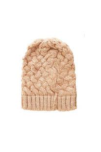 Gorro de lana trenzado