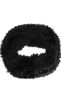 Cuello doble corderito.  Medida: 20 cm x 75 cm  -