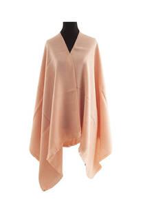 #ML07 Mantón liso premium frizado de lana desflecado  Medidas: 75 cm x 200 cm. -