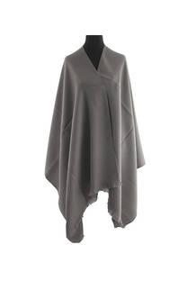 #ML08 Mantón liso premium frizado de lana desflecado  Medidas: 75 cm x 200 cm. -