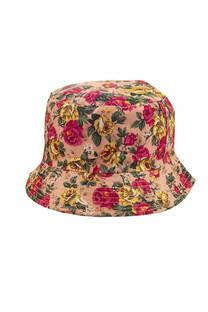 Sombrero piluso para niños estampado floreado -