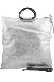 Cartera / sobre cuero ecológico, bolsillo externo e interno con cierre, manija de agarre y correa larga regulable. -